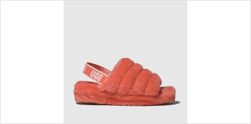Ugg Pink Fluff Yeah Slide Womens Slippers from Schuh