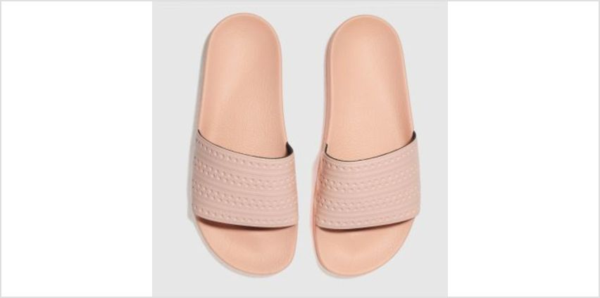 Adidas Pale Pink Adilette Slide Womens Sandals from Schuh