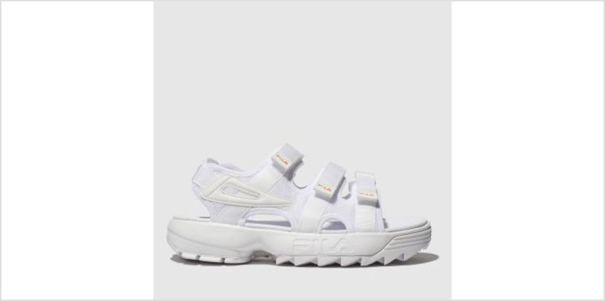 Fila White Disruptor Sandal Womens Sandals from Schuh