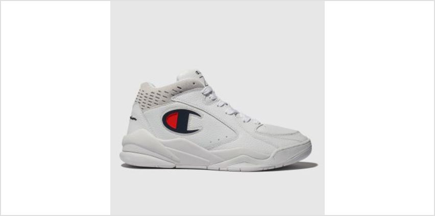 Champion White Zone Mid Womens Trainers from Schuh