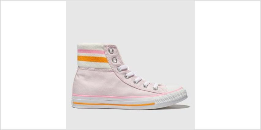 Converse Pale Pink All Star 80S Cuffed Womens Trainers from Schuh