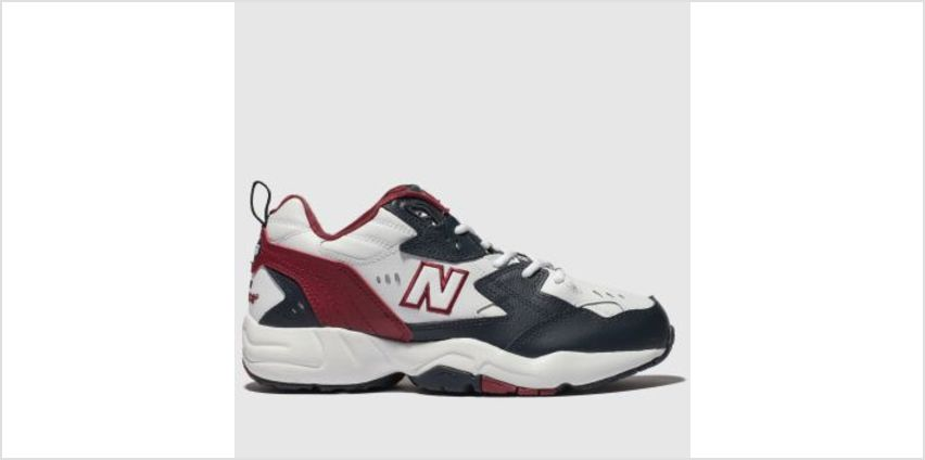New Balance White & Navy 608 Womens Trainers from Schuh