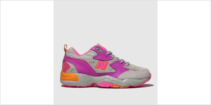 New Balance Pink 608 Womens Trainers from Schuh