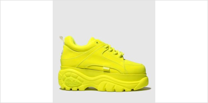 Buffalo London Yellow Classic Low Womens Trainers from Schuh