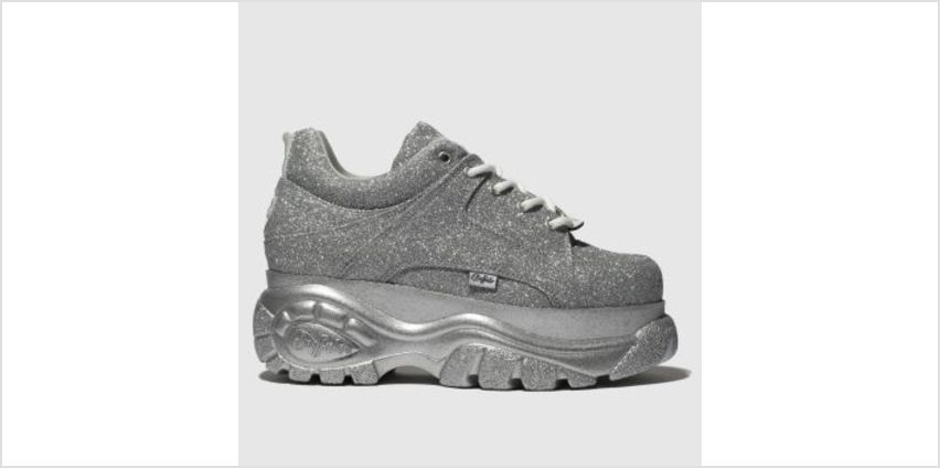 Buffalo London Silver Classic Low Womens Trainers from Schuh
