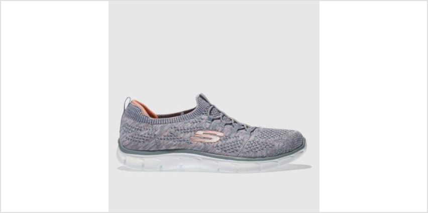 Skechers Grey Empire Sharp Thinking Womens Trainers from Schuh