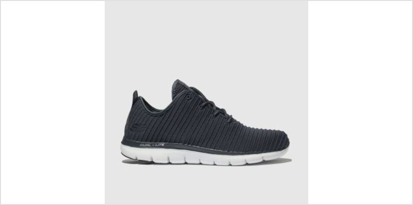 Skechers Navy Flex Appeal 2.0 Estates Womens Trainers from Schuh