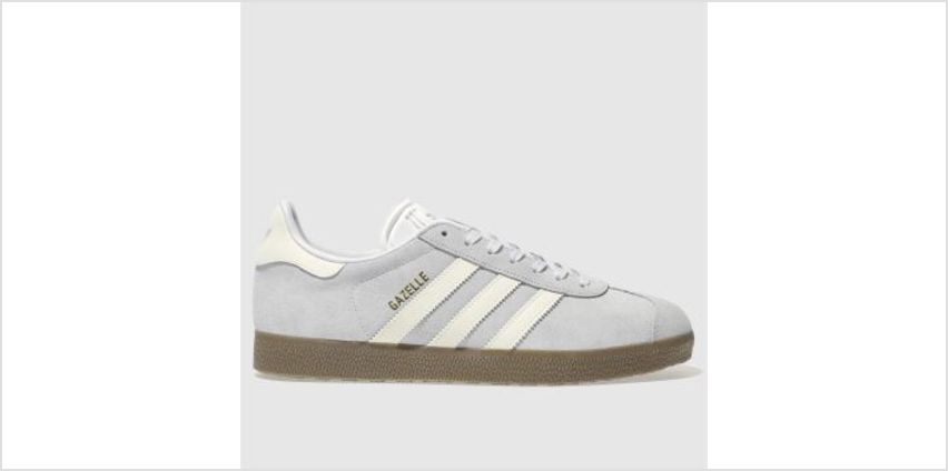 Adidas Pale Blue Gazelle Suede Womens Trainers from Schuh