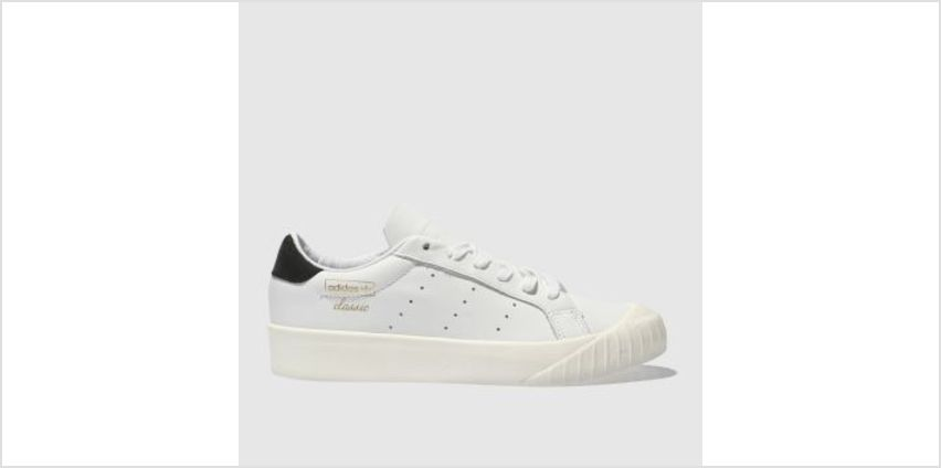 Adidas White & Black Everyn Womens Trainers from Schuh