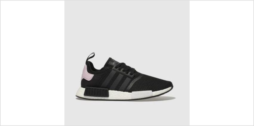Adidas Black & pink Nmd R1 Womens Trainers from Schuh