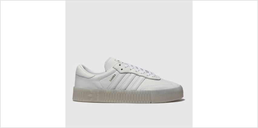 Adidas White Sambarose Womens Trainers from Schuh