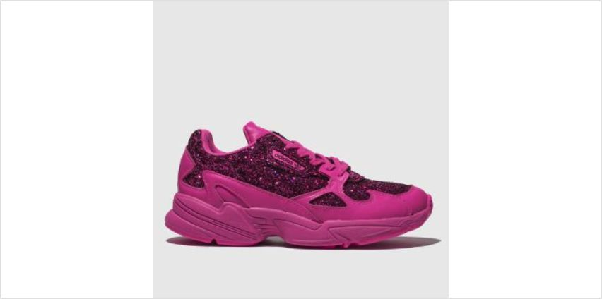 Adidas Pink Falcon Womens Trainers from Schuh