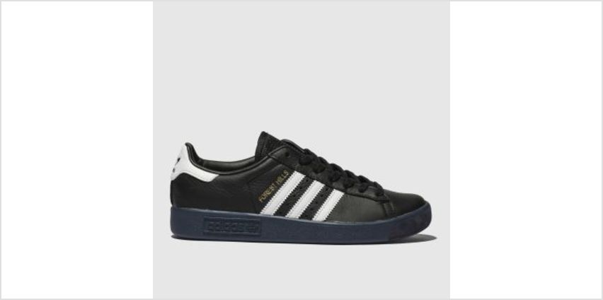 Adidas Black & White Forest Hills Womens Trainers from Schuh