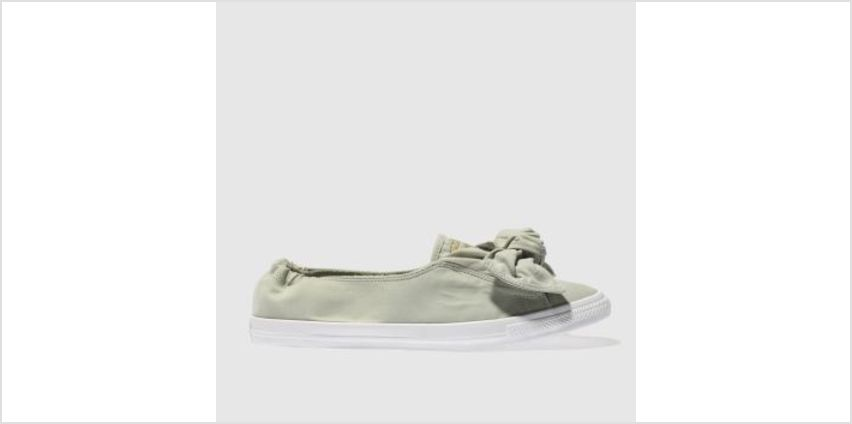 Converse Khaki Chuck Taylor All Star Knot Ox Womens Trainers from Schuh