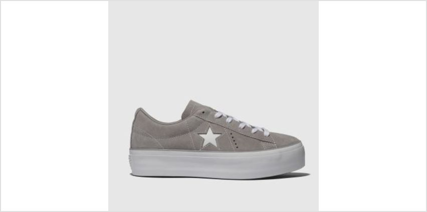 Converse Stone One Star Platform Ox Womens Trainers from Schuh