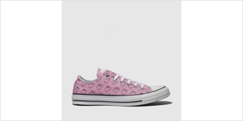 Converse Pink All Star Hello Kitty Ox Womens Trainers from Schuh