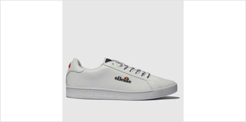 Ellesse White Campo Emb Womens Trainers from Schuh