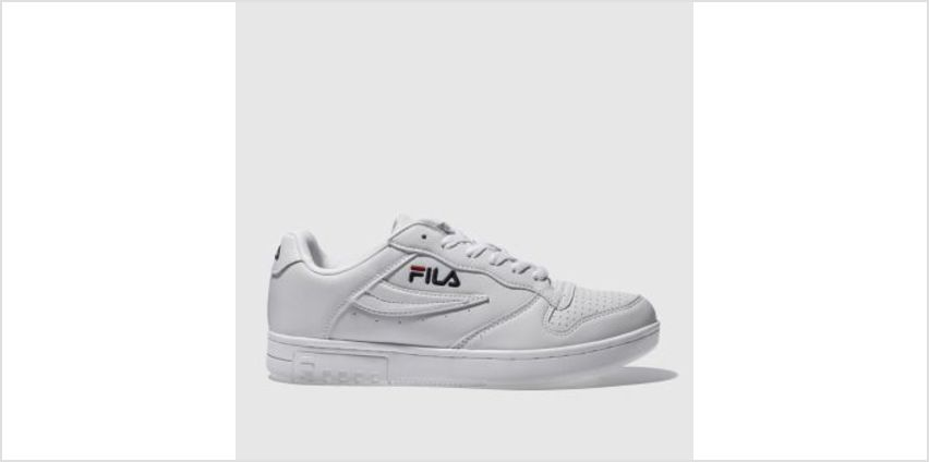 Fila White Fx100 Low Womens Trainers from Schuh