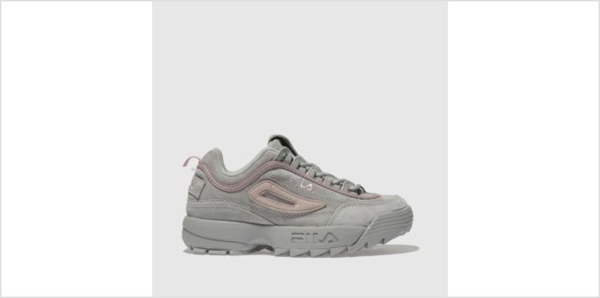 Fila Grey Disruptor Ii Womens Trainers from Schuh