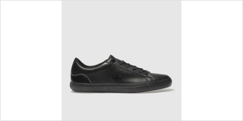 Lacoste Black Lerond Womens Trainers from Schuh