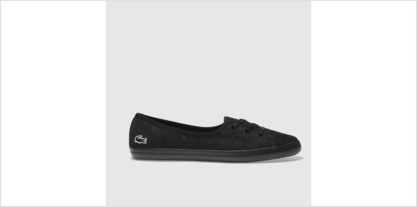 Lacoste Black Zaine Chunky 318 Womens Trainers from Schuh