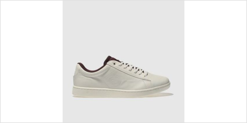 Lacoste Natural Carnaby Evo 418 Womens Trainers from Schuh