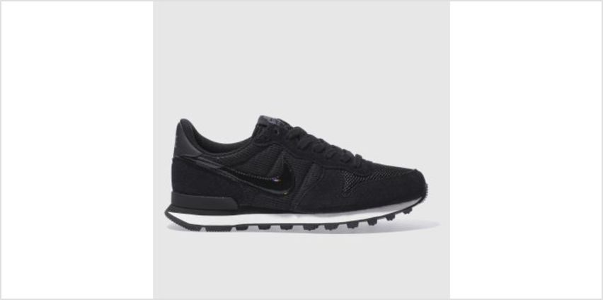 Nike Black & White Internationalist Womens Trainers from Schuh