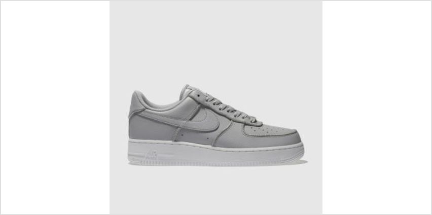 Nike Grey Air Force 1 Lo Womens Trainers from Schuh