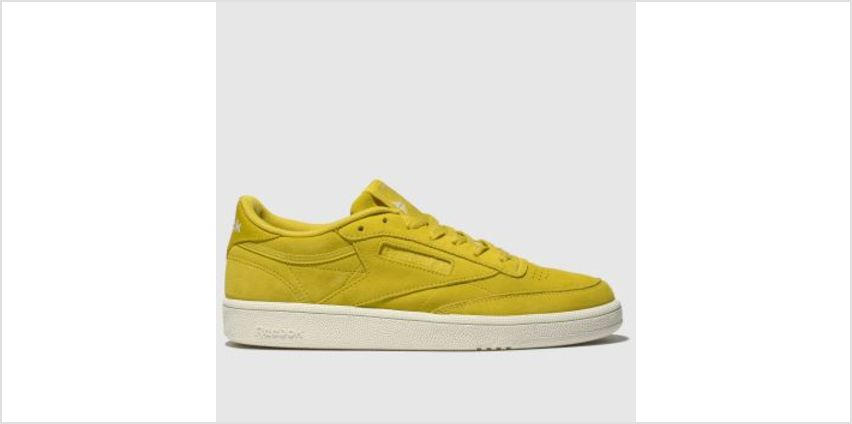 Reebok Yellow Club C 85 Womens Trainers from Schuh
