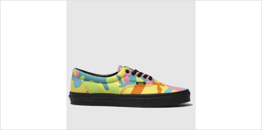 Vans Yellow & Pink Era Womens Trainers from Schuh