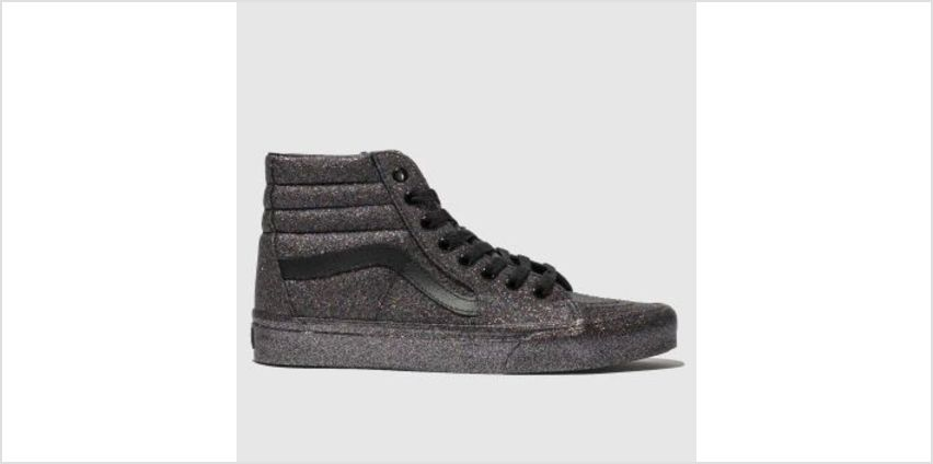 Vans Multi Sk8-Hi Glitter Womens Trainers from Schuh