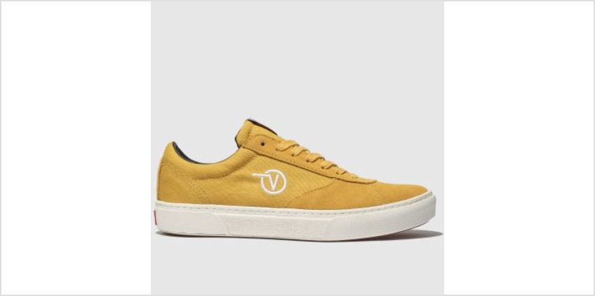 Vans Yellow Paradoxxx Womens Trainers from Schuh