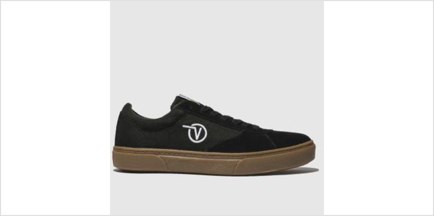Vans Black & White Paradoxxx Womens Trainers from Schuh