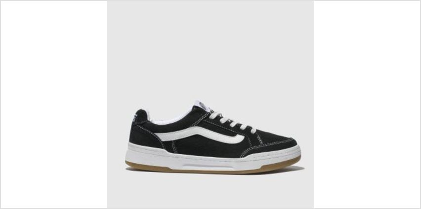 Vans Black & White Highland Womens Trainers from Schuh