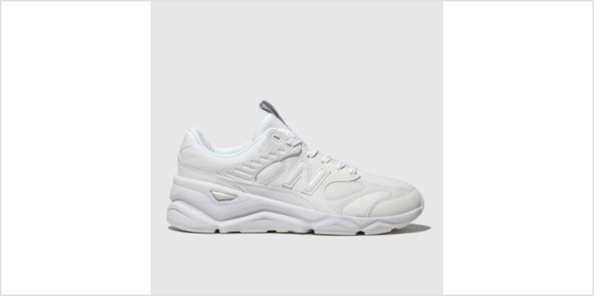 New Balance White X90 Womens Trainers from Schuh