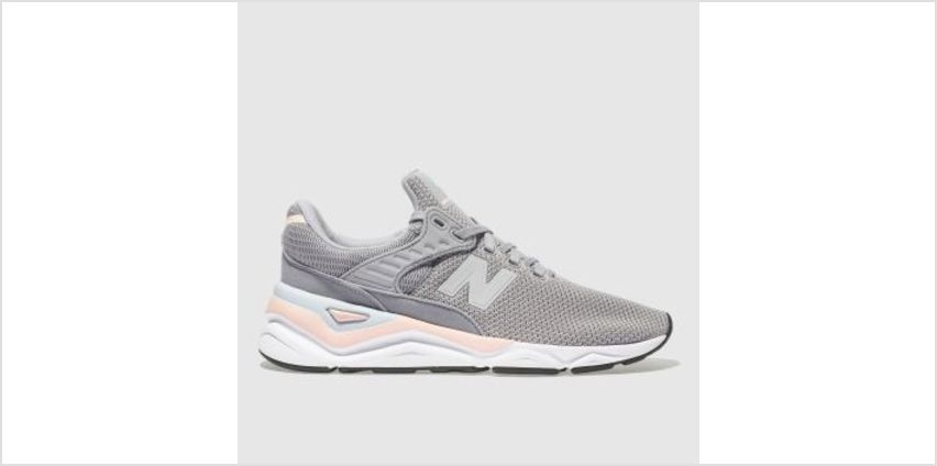New Balance Grey X-90 Womens Trainers from Schuh