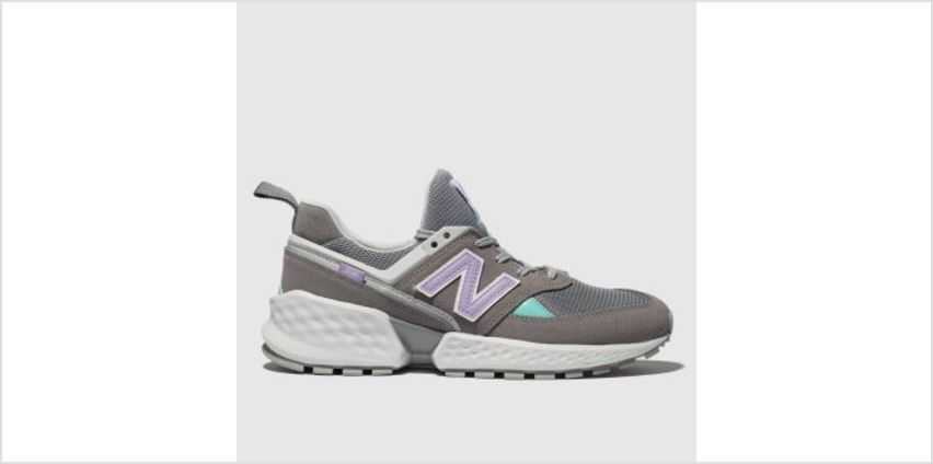New Balance Grey 574 Sport V2 Womens Trainers from Schuh