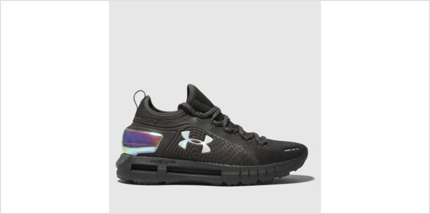 Under Armour Black & Silver Hovr Phantom Se Womens Trainers from Schuh