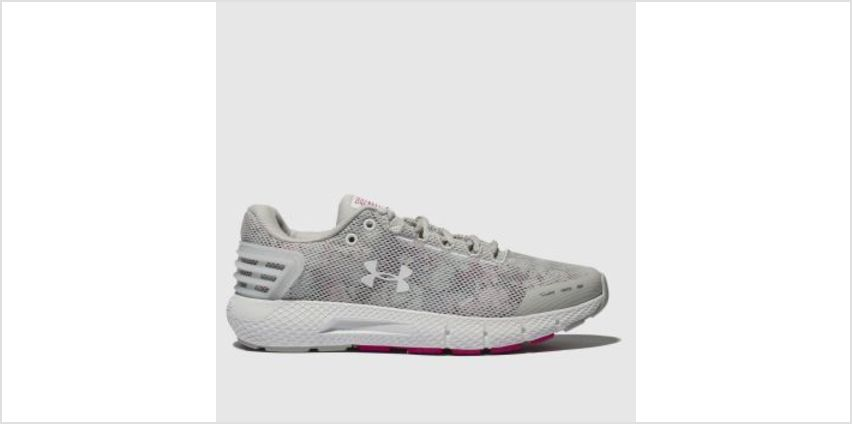 Under Armour Light Grey Charged Rogue Amp Womens Trainers from Schuh