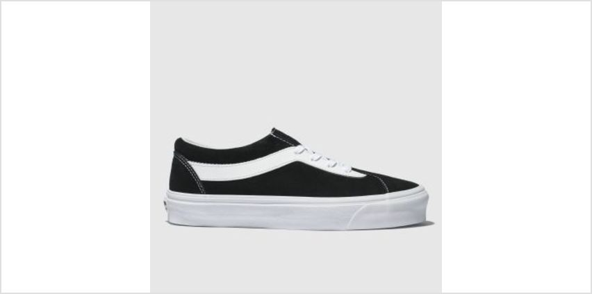 Vans Black & White Bold New Issue Staple Womens Trainers from Schuh