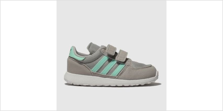 Adidas Light Grey Forest Grove Unisex Toddler from Schuh