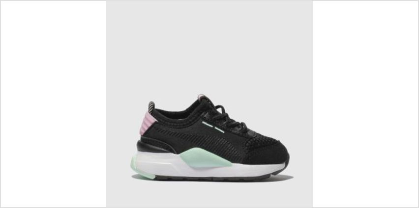Puma Black & pink Rs-0 Winter Inj Toys Unisex Toddler from Schuh
