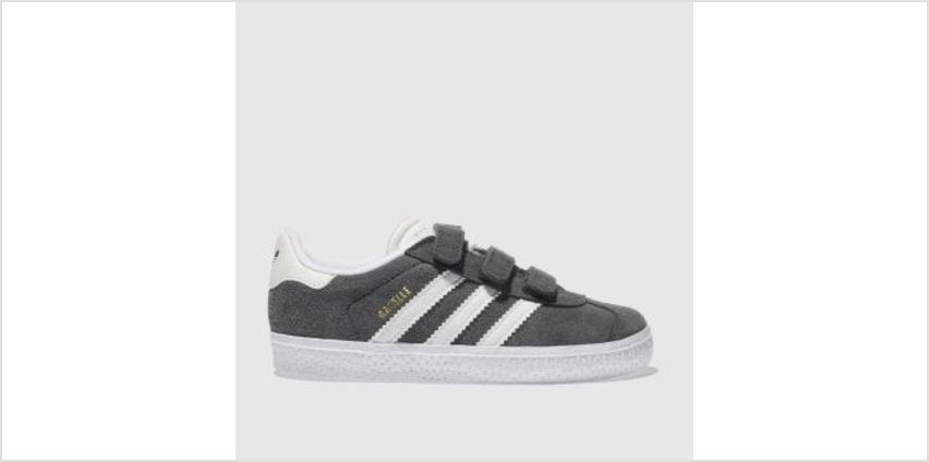 Adidas Dark Grey Gazelle Unisex Toddler from Schuh