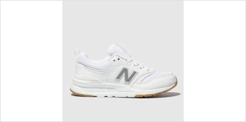 New Balance White 997H Unisex Junior from Schuh