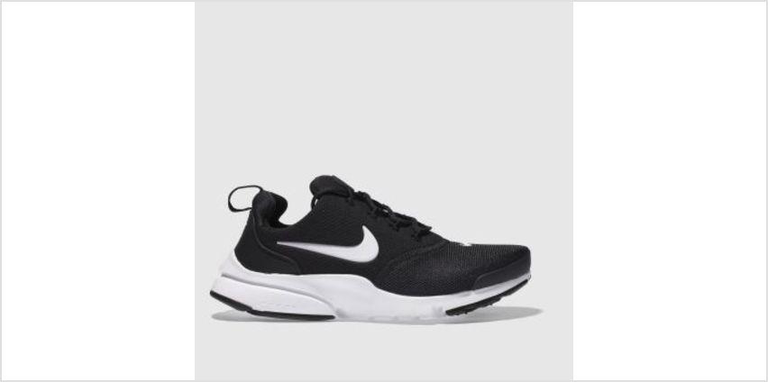 Nike Black & White Presto Fly Unisex Youth from Schuh