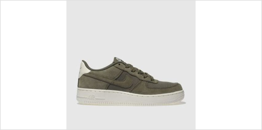 Nike Khaki Air Force 1 Unisex Youth from Schuh