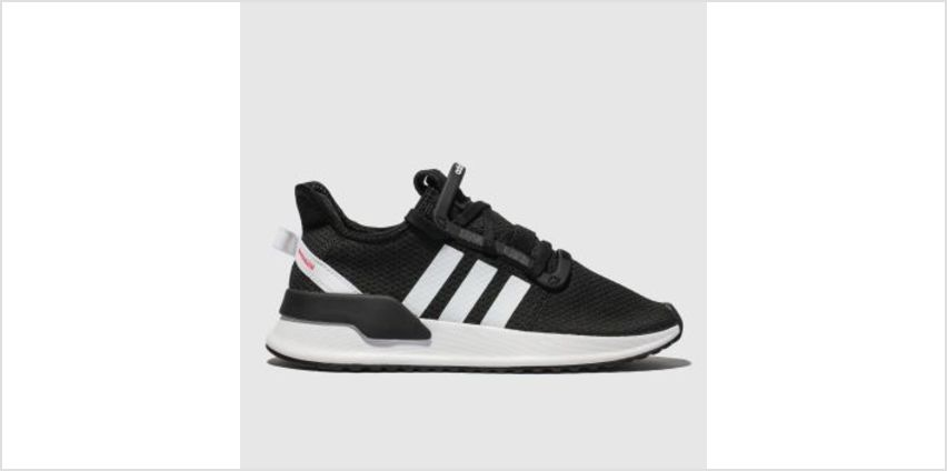 Adidas Black & White U_Path Run Unisex Youth from Schuh