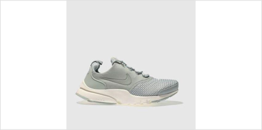 Nike Light Grey Presto Fly Se Unisex Youth from Schuh