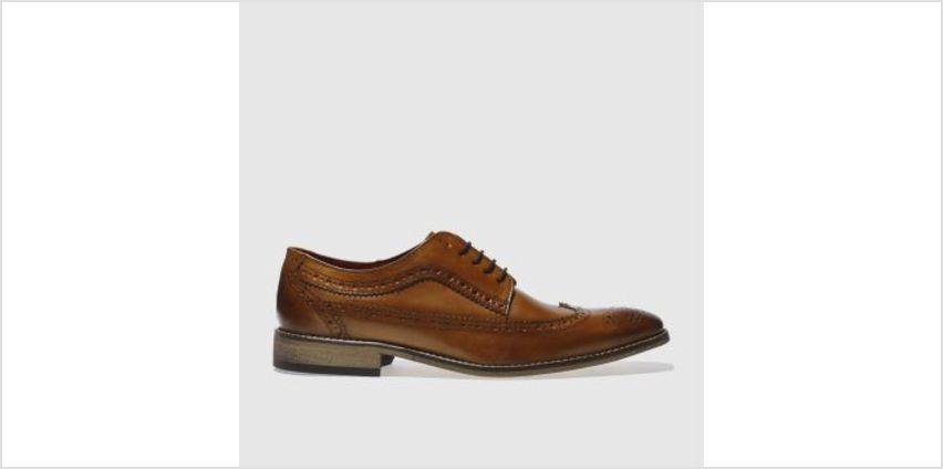 Base London Tan County Brogue 2 Mens Shoes from Schuh