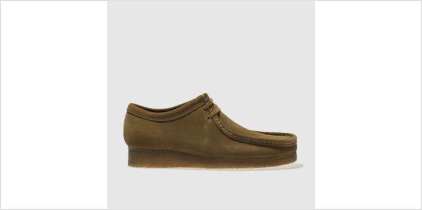 Clarks Originals Brown Wallabee Mens Shoes from Schuh
